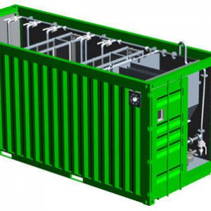50 KLD - Containerized Sewage Water Treatment Plant by Jaival Water Management